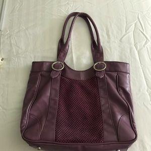 🦄 Purple Bandolino shoulder purse